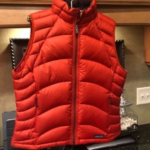 Patagonia Red Women's Vest Large